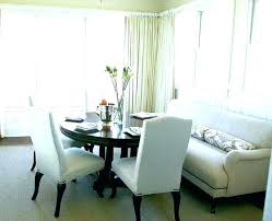 Dining Room Couches Settee Bench Table Attractive With Trendy