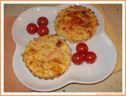 petites quiches sans pâte au saumon et au poireau recette