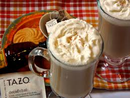 Tazo Pumpkin Spice Chai Latte Recipe by Chai Latte Krazy Kitchen Mom