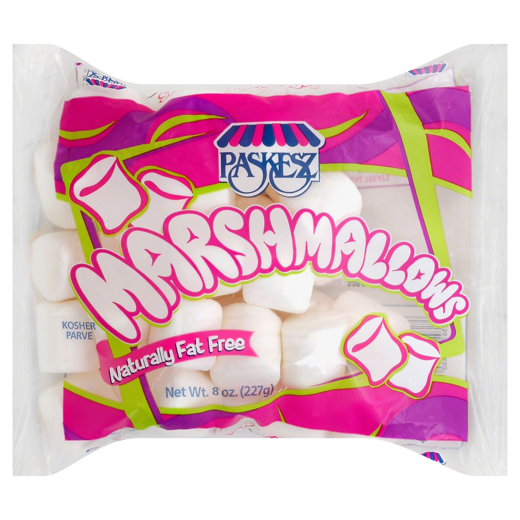 Paskesz Naturally Fat-Free Marshmallows - 8oz