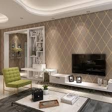 starke geometrische wildleder tapete 3d für wohnzimmer wand moderne wand papers home decor braun beige tapete für wände 3d