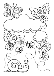 Coloring Pages Halloween Hello Kitty Kids Disney Princesses For