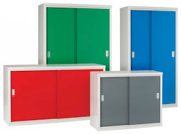 modern office with plastic walmart storage cabinets with doors