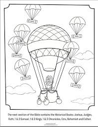 Kids Coloring Page From Whats In The Bible Featuring Capn Pete And Historical
