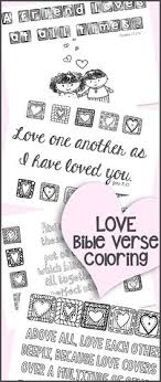 FREE Love Bible Verse Coloring Pages