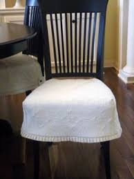 Dining Room Chair Slip Covers Tutorial Need This So I Can Throw Them All In
