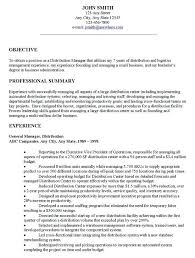 Software Resume Objective Manager Arzamas