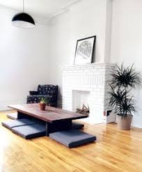 DIY Low Dining Table And Cushions Japanese Inspired