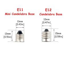 bonlux 6w dimmable e11 led light bulb 45w halogen bulbs equivalent