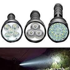 100000 lumen cree led cree xm l t6 tactical flashlight torch