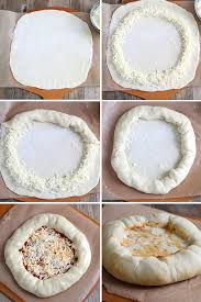 How To Make Gluten Free Stuffed Crust Pizza Step By
