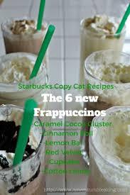 Pumpkin Spice Frappuccino Recipe Starbucks by Best 25 Frappuccino Flavors Ideas On Pinterest Starbucks