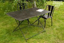 beautiful table de jardin metal pliante pictures amazing house