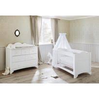 ensemble chambre bébé comforium ensemble chambre bébé avec lit à barreaux évolutif