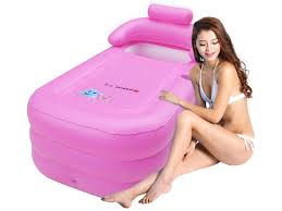 Inflatable Bathtub For Adults by Blue Pink Pvc Folding Portable Foldable Bathtub Inflatable