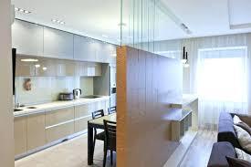 separation de chambre separation de cuisine sejour chambre ouverte avec verriere