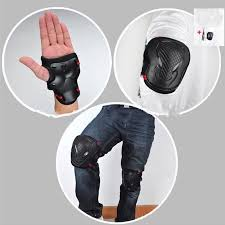 Professional Floor Layer Knee Pads by 6pcs Set Sports Safety Set Knee Pads Elbow Pads Wrist Protector