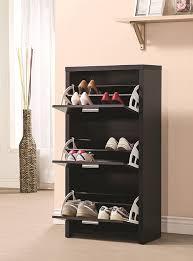 Baxton Simms Shoe Cabinet by Amazon Com Coaster 900604 Home Furnishings Shoe Cabinet Black