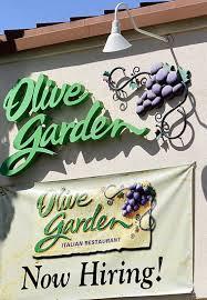 Is Olive Garden Hiring Best Idea Garden
