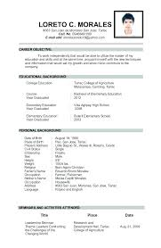 Elementary Teacher Resume Samples Free Sample Instructor Examples Experienced