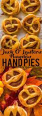 Easy Pumpkin Desserts by Jack O U0027 Lantern Pumpkin Hand Pies Fox And Briar