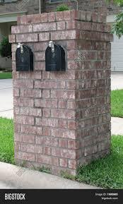 100 Letterbox Design Ideas Neighborhood Brick Double Mailbox Mailbox In 2019 Brick Mailbox