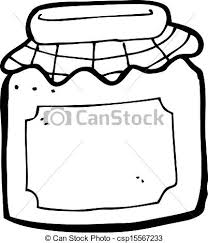 Cartoon Jam Jar Vectorsby