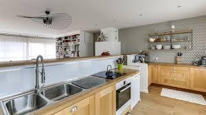 cuisine bois des cuisines tendance copier c t maison photo en