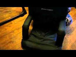 Stadium Chairs For Bleachers With Arms by Home Complete Stadium Chair Youtube