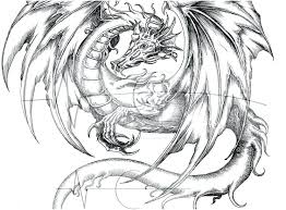 Coloring Sheets For Adults Dragons Graphic Fire Breathing Dragon Pages Home Ripping Printable Full Size