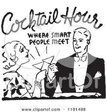Retro Clipart Cocktail Party 3