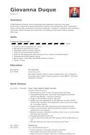 front desk agent resume sles visualcv resume sles database