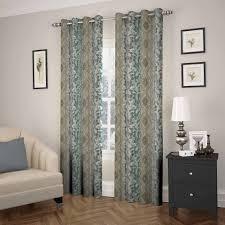 Eclipse Room Darkening Curtain Rod by Eclipse Shayla Room Darkening Window Curtain Panel Walmart Com