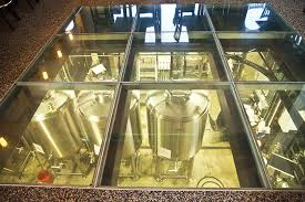 A Glass Floor That Allows You To Watch The Brewing Process