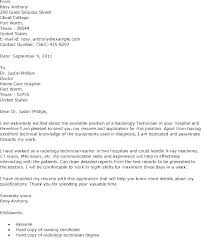 X Ray Tech Cover Letter And Resume Sample Example Surgical