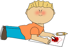 Boy Coloring Clip Art