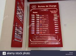 post office bureau de change exchange rates post office counter uk stock photos post office counter uk stock
