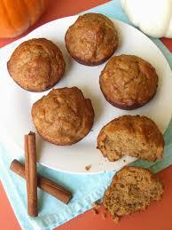 Vegan Pumpkin Muffins Applesauce by 3 Ingredient Skinny Pumpkin Muffins Lindsay Ann Bakes