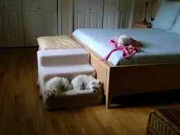 Pet Stairs For Tall Beds by Bathroom Outstanding Dog Steps For Bed Homemade Large Stairs