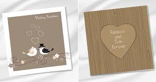 Wedding Invitations Rustic Print