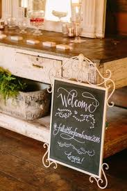 Blackboard Welcome Sign Fall At The Farmhouse 2015 Faux Wedding Party Styled Shoot Rustic Hashtag