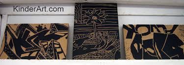 Block Printing With Linoleum Lino Printmaking