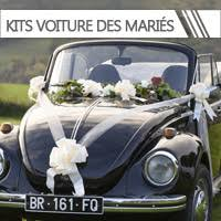 décoration voiture mariage pas cher déco voiture mariés dragée