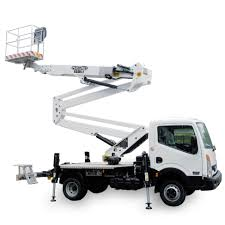 100 Truck Mounted Boom Lift Lift Red Island
