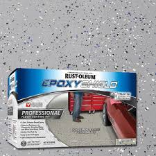 rust oleum epoxyshield 2 gal silver gray semi gloss professional