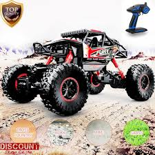 Remote Control RC Car Electric Monster Truck OFFRoad Racing 4WD ... Traxxas Xmaxx 16 Rtr Electric Monster Truck Wvxl8s Tsm Red Bigfoot 124 Rc 24ghz Dominator Shredder Scale 4wd Brushless Amazing Hsp 94186 Pro 116 Power Off Road 110 Car Lipo Battery Wltoys A979 24g 118 For High Speed Mtruck 70kmh Car Kits Electric Monster Trucks Remote Control Redcat Trmt10e S Racing Landslide Xte 18 W Dual 4000 Earthquake 8e Reely Core Brushed Xs Model Car Truck