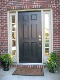 Front Door Side Panel Curtains by Front Entry Painted Trim Side Light Surround Stained Door
