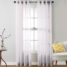 mercury row caldera sheer solid grommet curtain panel reviews
