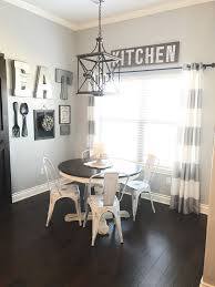 WALL DECOR Dining Room Gallery Wall In A Farmhouse Style With Barn Door DIYs And Ideas