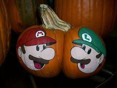 Mario Pumpkin Stencil by Super Mario Pumpkins By Katrina1185 On Deviantart Crafts And